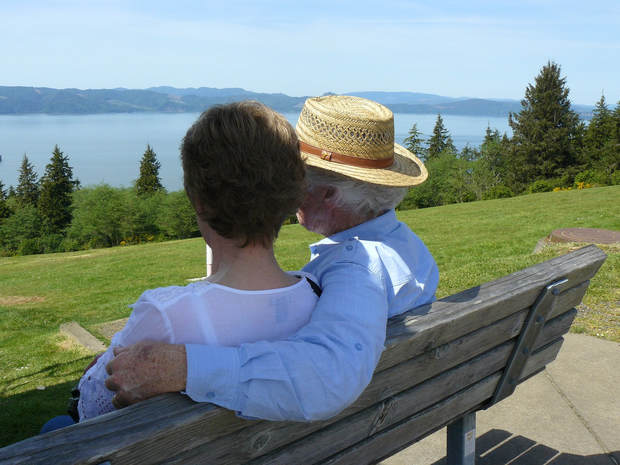 Happy couple with medicare advantage, supplements, and Part D Plan